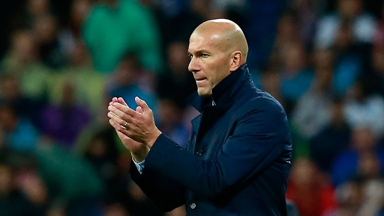 Zinedine Zidane says Real Madrid's rematch with Tottenham is like a final with both clubs on seven points in Group H