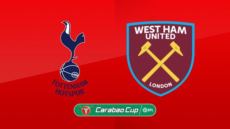 Watch Tottenham v West Ham live on Sky Sports Football on Wednesday night