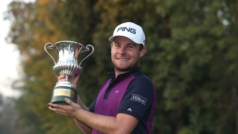 Hatton claimed a one-shot win at Golf Club Milano