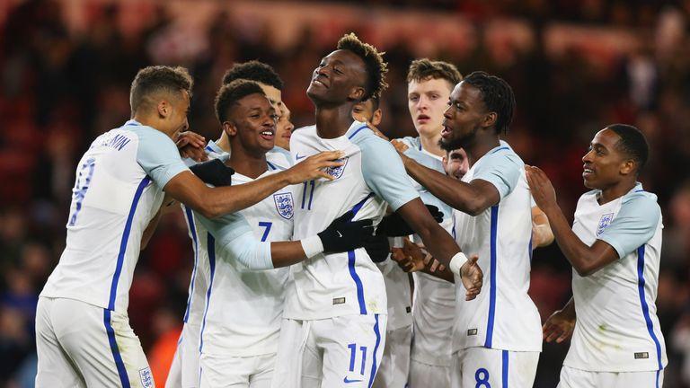 The Young Lions put in a dominant display in their Euro 2019 qualifier against Scotland