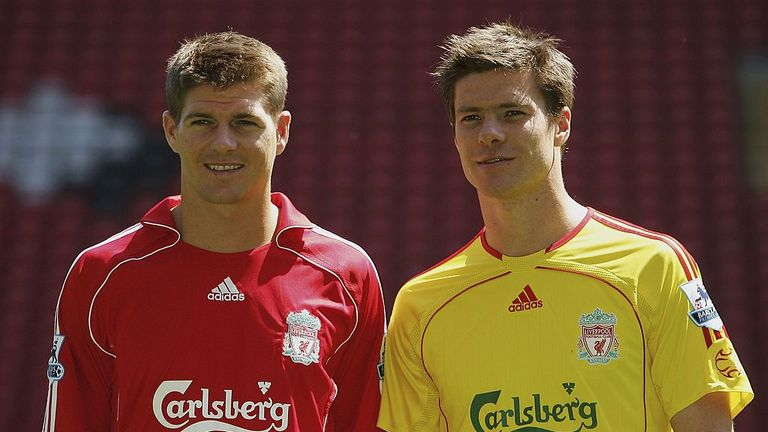Xabi Alonso has backed Steven Gerrard to become Liverpool manager