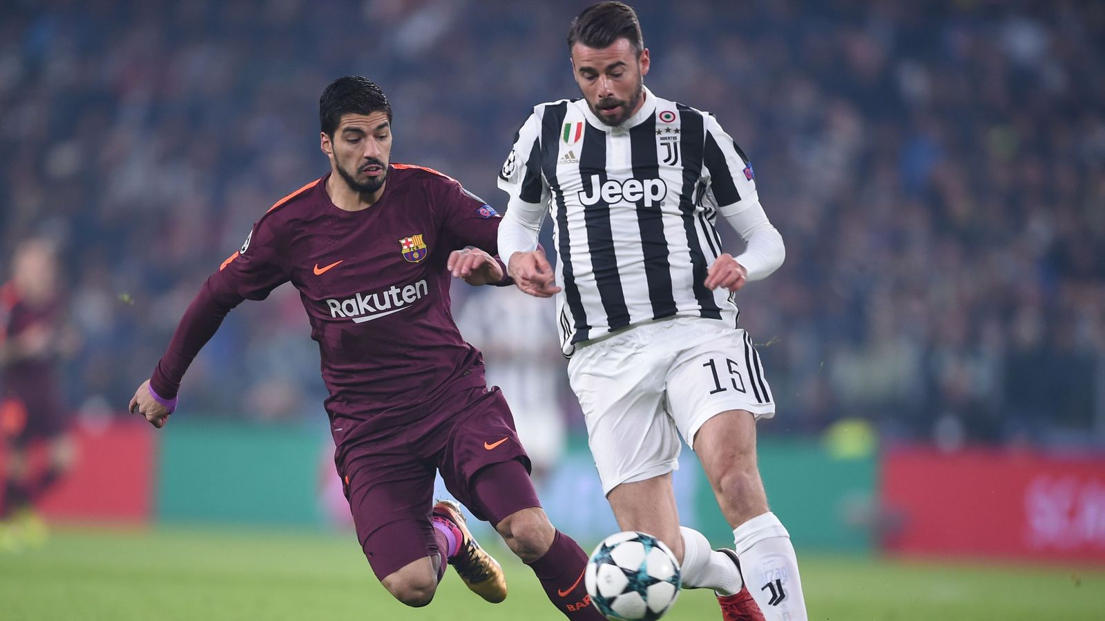 Juventus 0 - 0 Barcelona - Match Report & Highlights