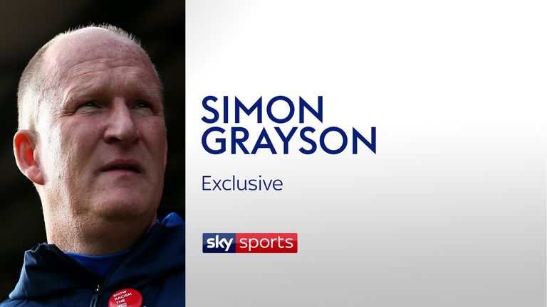 Simon Grayson has opened up to Sky Sports about his Sunderland exit