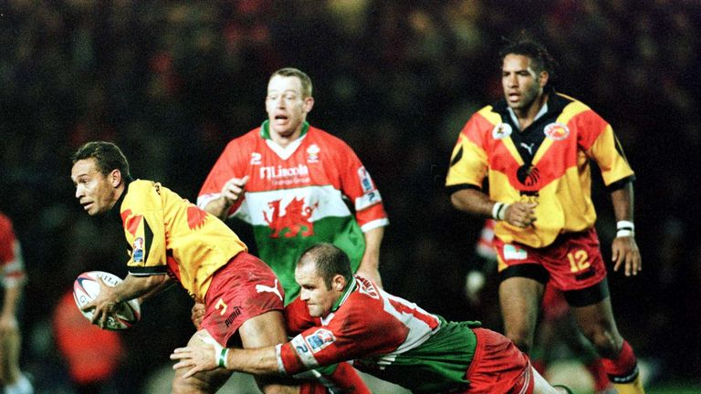 PNG were knocked out at the quarter-final stage of the 2000 World Cup after a 22-8 defeat to Wales