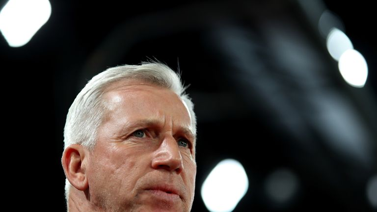 Alan Pardew has signed a contract at West Brom until June 2018