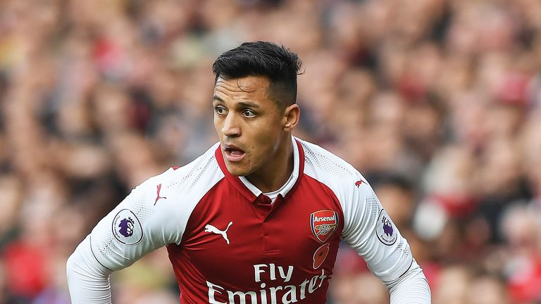Alexis Sanchez is expected to leave Arsenal for Manchester United