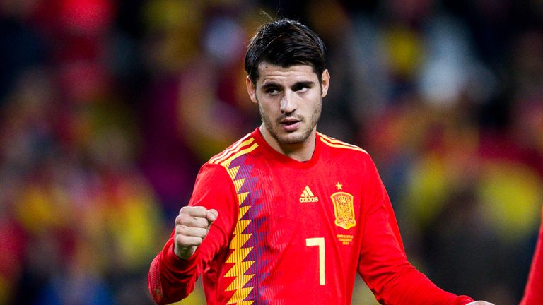 Alvaro Morata has a good scoring record for Spain, but has not replicated this with Chelsea