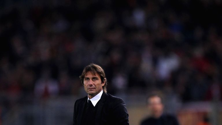 Antonio Conte is under pressure following the Blues' heavy Champions League defeat to Roma