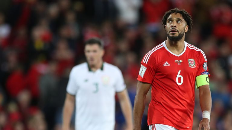 Captain Ashley Williams is keen to play on for Wales, despite his disappointment at missing out on World Cup qualification