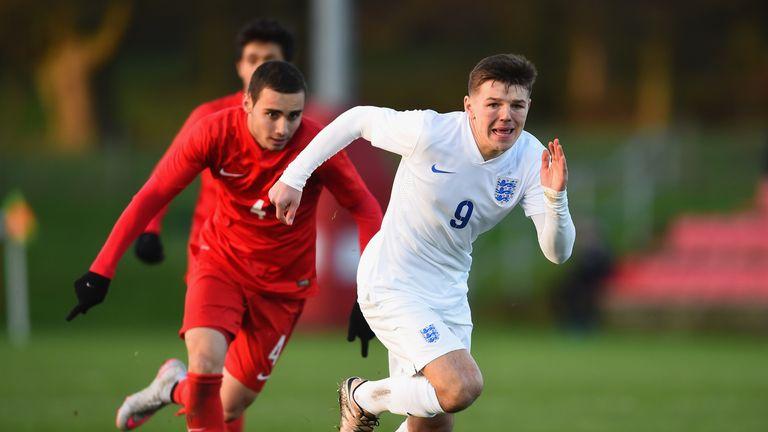 Bobby Duncan has scored three goals for England U17s since last summer
