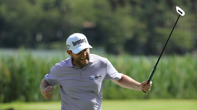 Grace claimed a one-shot victory at Gary Player CC