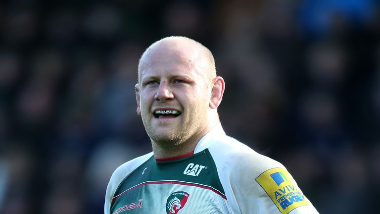 Dan Cole has made 185 appearances for Leicester Tigers