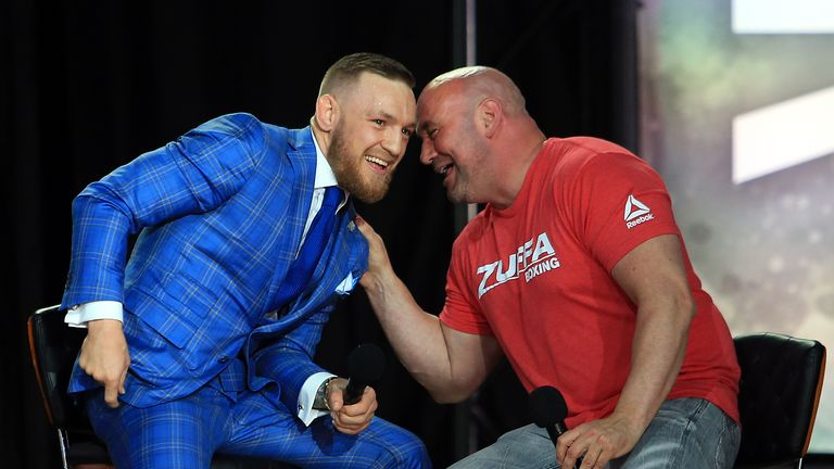 White has played a leading role in producing stars in MMA, none more so than Conor McGregor