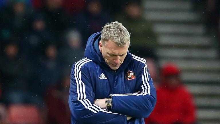 Moyes was relegated as Sunderland manager last season