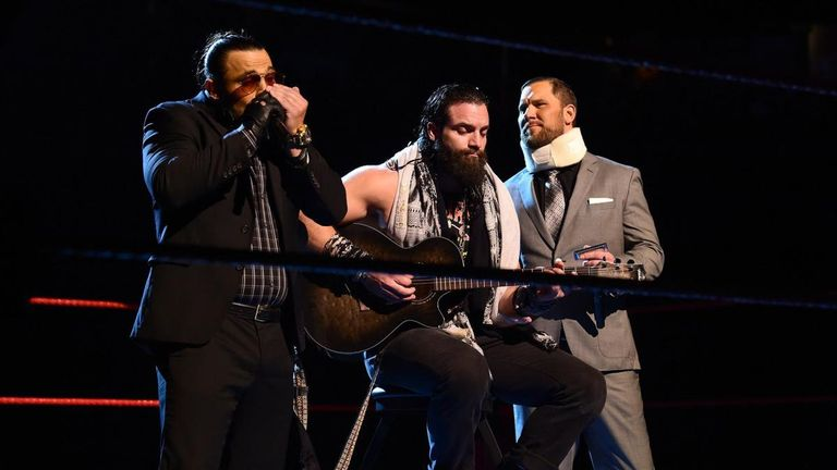 Was Elias' musical collaboration with the Miztourage your WWE highlight of the week?