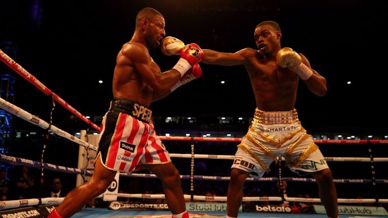 Errol Spence Jr won the IBF welterweight belt by defeating Kell Brook