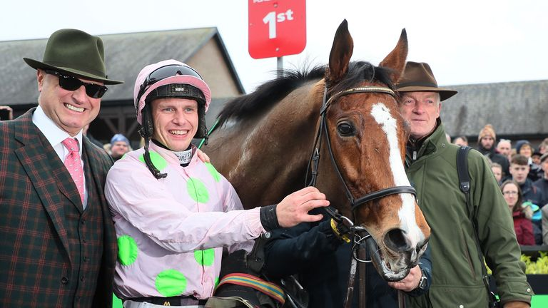 Faugheen wins on chasing debut at Punchestown