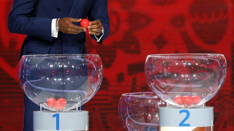 Former FIFA president Sepp Blatter claimed that some draws have been fixed using hot and cold balls