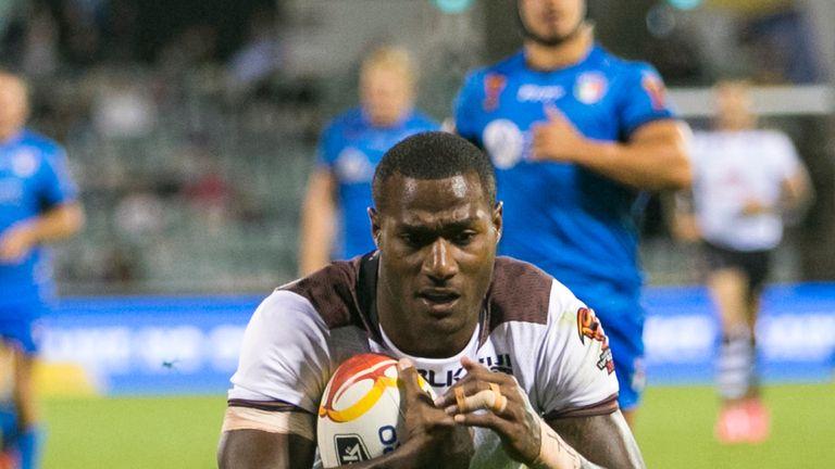 Vunivalu has now scored eight tries in Fiji's opening three games