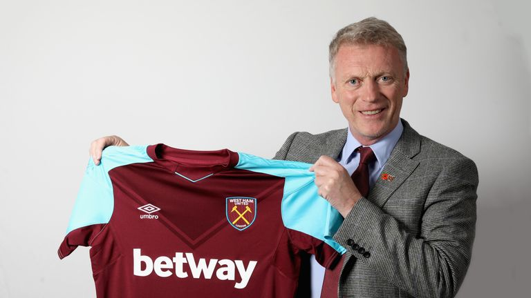 David Moyes has been charged with keeping West Ham in the Premier League