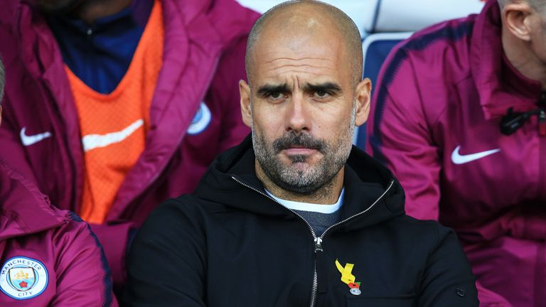 Man City manager Pep Guardiola has been compared to Celtic boss Brendan Rodgers
