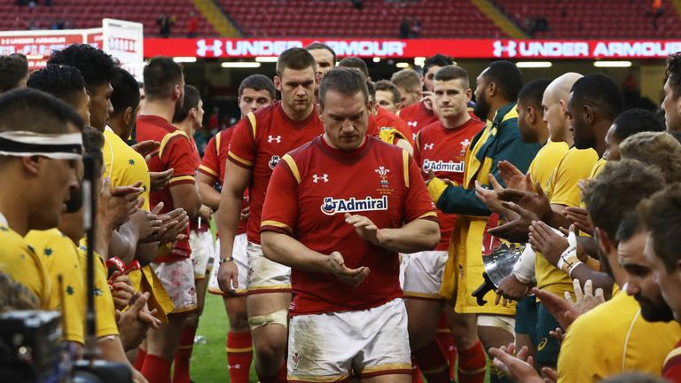 Wales have lost 13 games in a row against the Wallabies