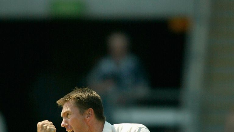 Anderson is now just 23 shy of Glenn McGrath's of 563 Test wickets for a seamer