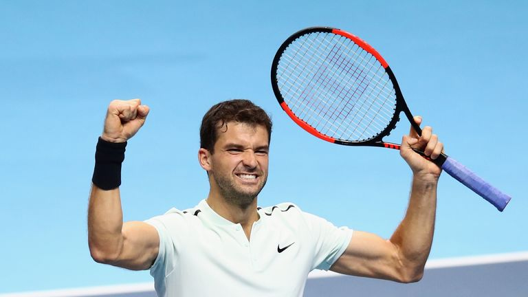 Dimitrov will be favourite to beat Sock, although the American leads their head-to-head record 3-1