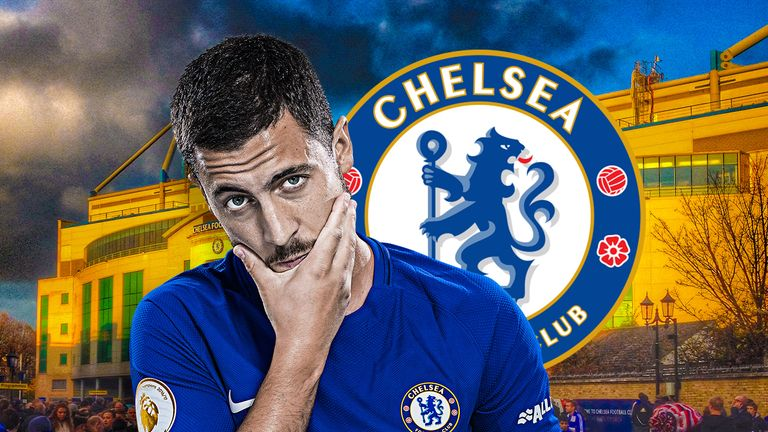 Eden Hazard is enjoying his new No.10 role for Chelsea this season