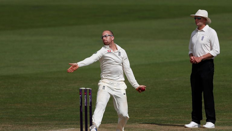 Leach is heading to Australia as part of the England Lions squad
