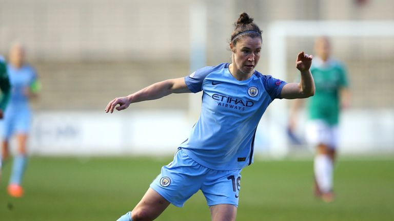 Jane Ross' two headers sealed Man City's victory in Norway