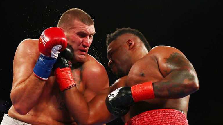 'Big Baby' Miller is unbeaten in 21 professional fights