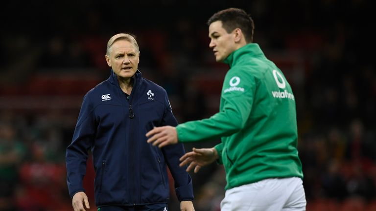 Johnny Sexton (right) has worked with Joe Schmidt for eight years