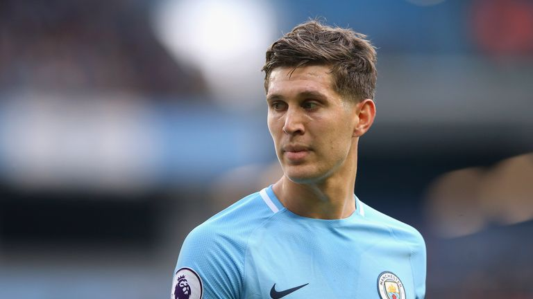 John Stones is looking to win his first-ever Premier League title this weekend