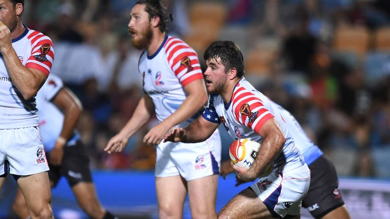 Jonathan Taylor Alley is the player coach at USARL side Central Florida Warriors