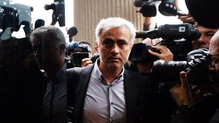 Jose Mourinho has reportedly reached a deal with the Spanish tax authorities