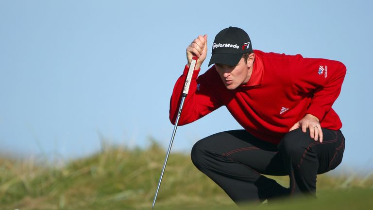 Rose finished two strokes behind Dougherty in Scotland