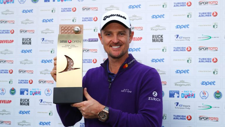 Rose claimed a one-shot win at the Turkish Airlines Open