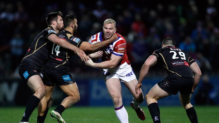 Hirst says the 'close-knit community' of rugby league was wholly supportive when he came out