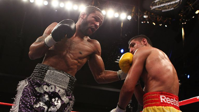 Khan lost a split decision to Lamont Peterson in 2011