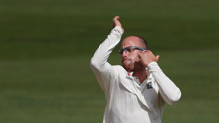 Jack Leach missed out on selection for England's tour of New Zealand