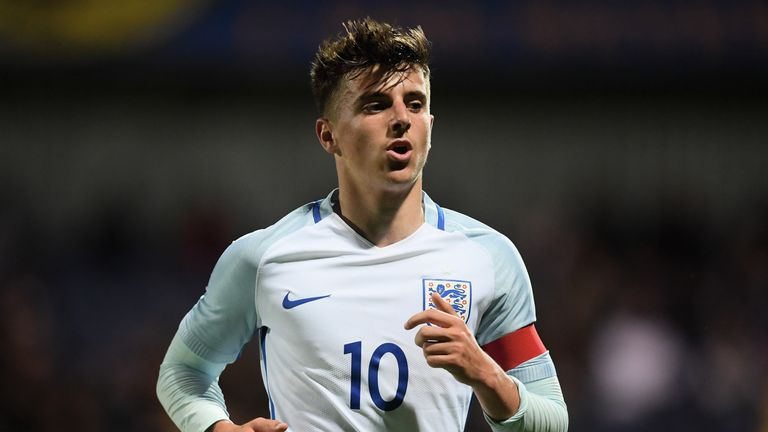 Mount has 16 caps for the England U19s, scoring seven goals