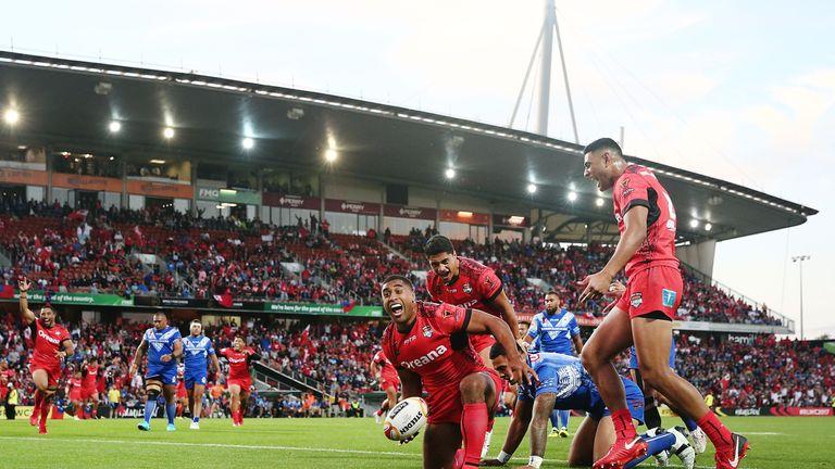 Michael Jennings bagged a brace for Tonga