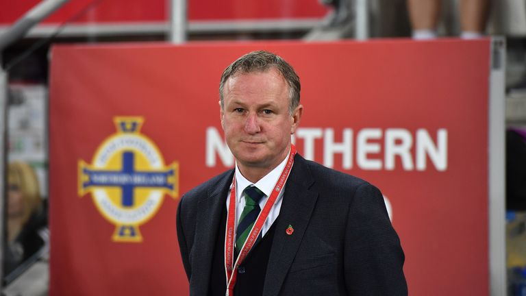 Northern Ireland manager Michael O'Neill says the play-off heartache has been forgotten