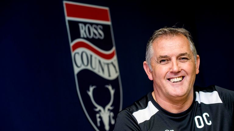 Owen Coyle is delighted to have lured Eagles to the Highlands
