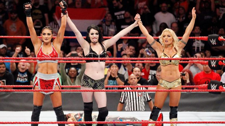 Paige returned as the leader of the Absolution faction