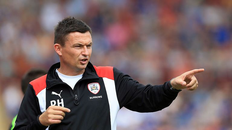 Barnsley boss Paul Heckingbottom helped shaped the careers of John Stones, Alfie Mawson and Mason Holgate