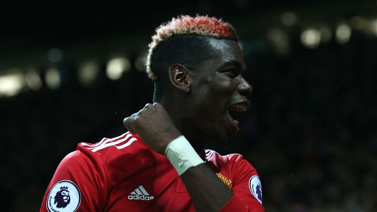 Paul Pogba returned to lead United to victory on Saturday