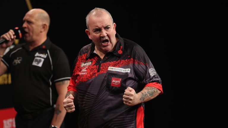 Phil Taylor somehow defeated an inspired Robbie Green having been 3-1 and 4-2 down