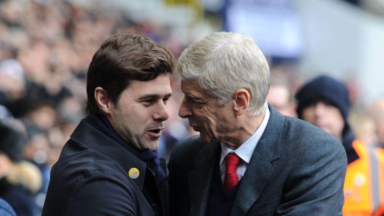 Wenger's Arsenal host Mauricio Pochettino's Tottenham on Saturday